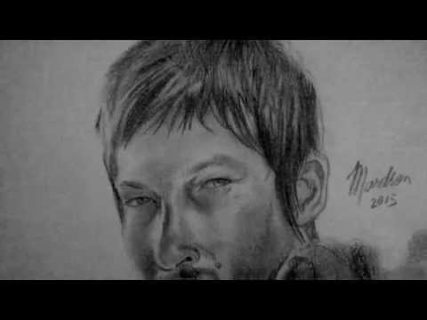 Desenho Daryl The Walking Dead Youtube