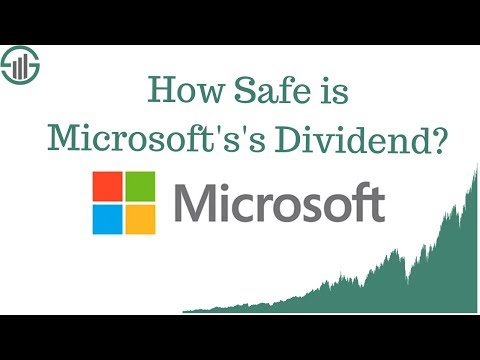 How Safe is Microsoft's Dividend?