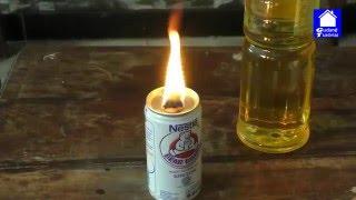 Cara Membuat Lilin (lampu darurat) dari Minyak Goreng