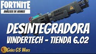 ANÁLISIS Escopeta DESINTEGRADORA VINDERTECH | Tienda FORTNITE 6.02