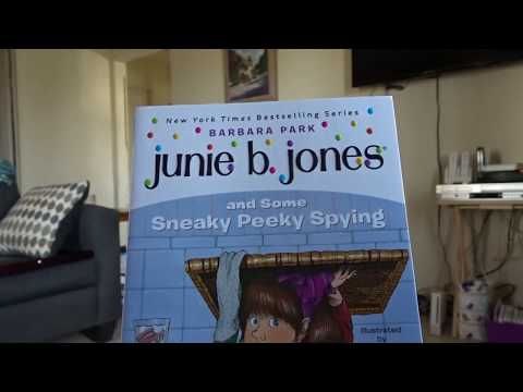 Junie B. Jones and the Sneaky Peeky Spying- Chapter 1 to 5