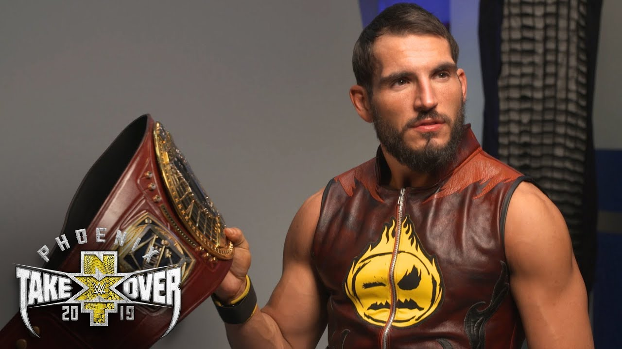 670270a67 Johnny Gargano poses for his NXT North American Champion photos: WWE ...