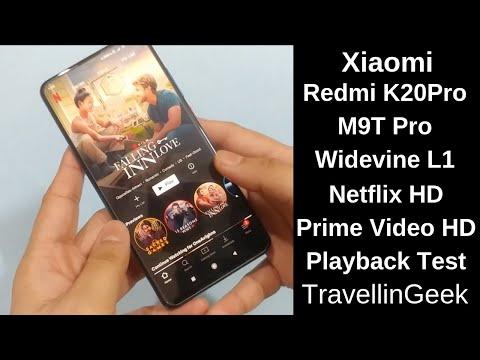 Xiaomi Redmi K20 Pro Widevine L1 Test | Netflix / Amazon Prime Video HD Support