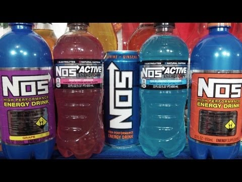 Nos Active Energy Water Drink Run @ Exxon Gas Station