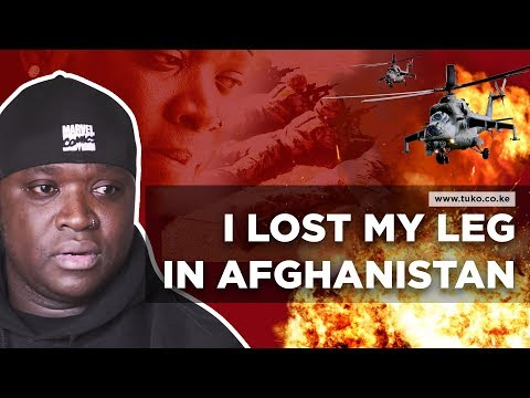 I lost my leg in Afghanistan, almost gave up