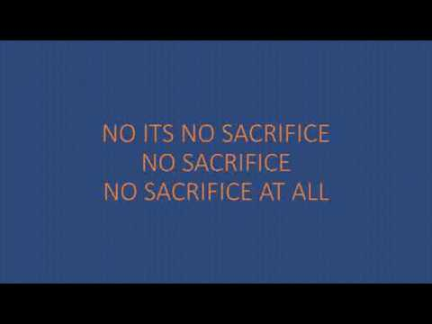 ELTON JONH SACRIFICE LYRICS