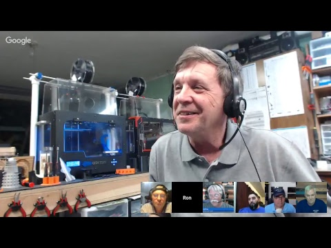 CNC With Dave # 59 - Ron Cleaveland and 3D Printing