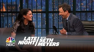 Cecily Strong Is Haunted - Late Night with Seth Meyers