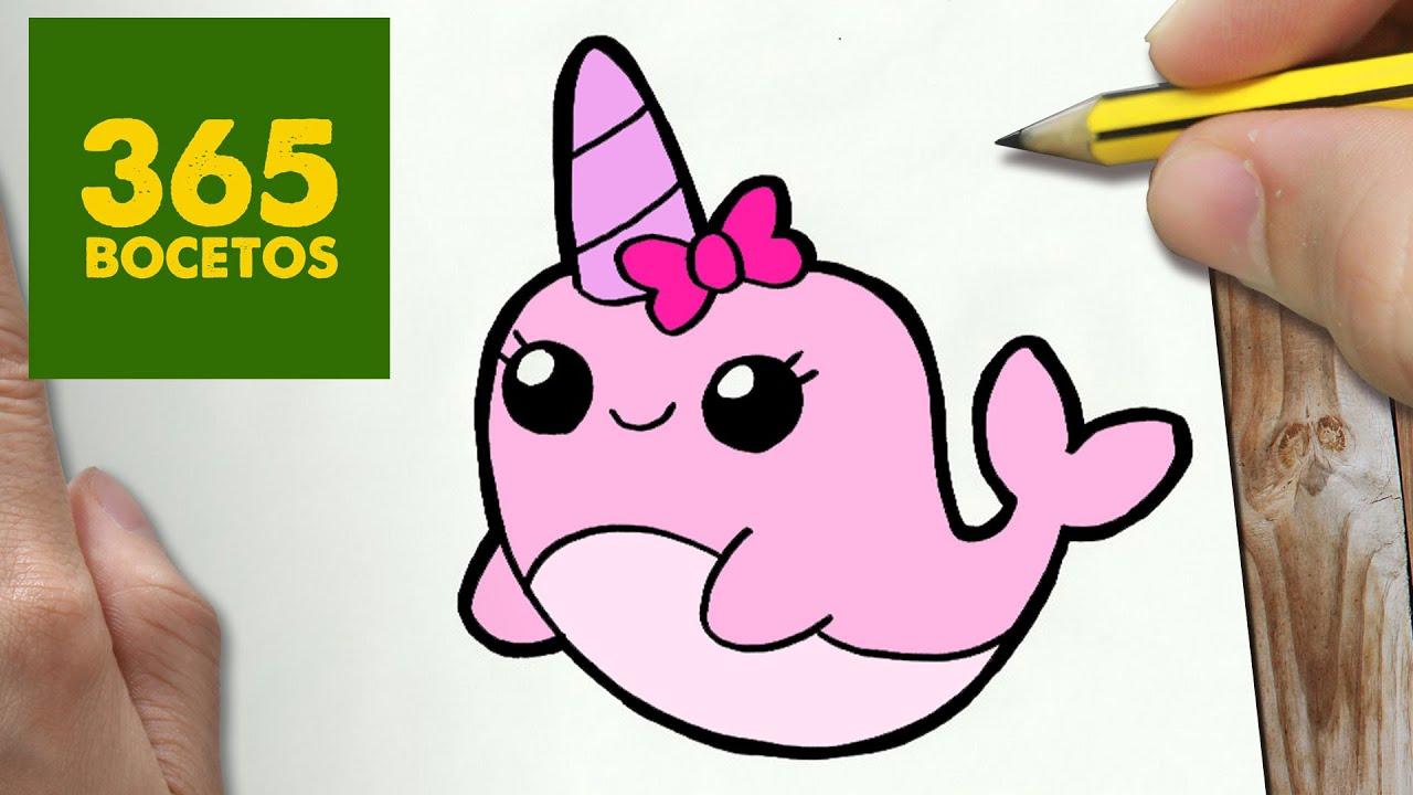 Como Dibujar Libreta Kawaii Paso A Paso Dibujos Kawaii: Unicornio Dibujo Kawaii Facil