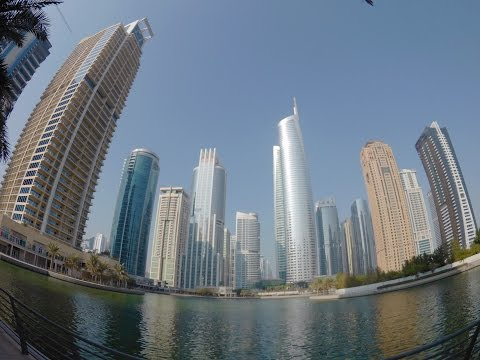 Jumeirah Lake Towers (JLT)  Dubai | A Walk Around  - EP-1