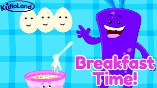 Breakfast Time Song For Kids | Start Your Kid's Day With A Fun Song | Early Morning Song