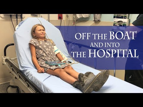 Off the BOAT and straight into the HOSPITAL. (Sailing Miss Lone Star) S5E18.