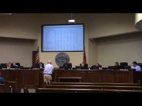 Sheriff Ashley Paulk Budget Request
