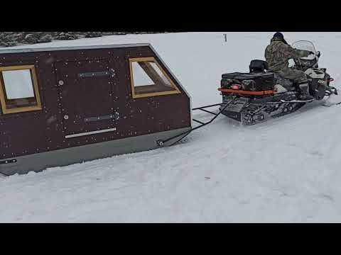Снегоходный кемпер своими