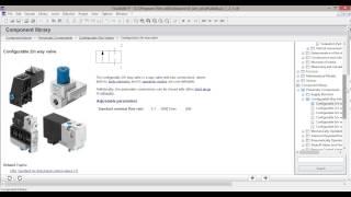 Моделирование пневмопривода. Уроки FluidSIM. Урок 1.Введение FluidSIM. Интерфейс оболочки.