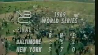 Mets Win the 1969 World Series
