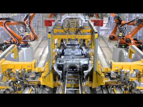 BMW 7 Series Industry Mass Production