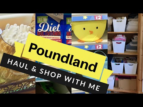 Poundland Haul & Shop With Me April 2019
