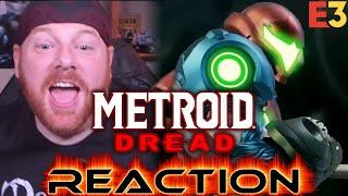 Krimson KB Reacts: Metroid Dread Reveal Trailer | Nintendo E3