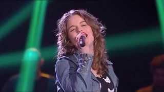 Шоу Голос - ПОЕТ КАК БОГИНЯ -Jéssica Cipriano- Girl on Fire- Alicia Keys