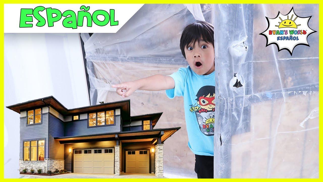 Compramos una casa nueva  Visita a la nueva casa de la familia Kaji