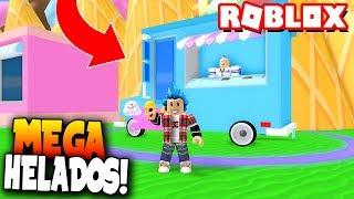 THE ICE SIMULATOR! That's great! - Roblox: Ice Cream Simulator
