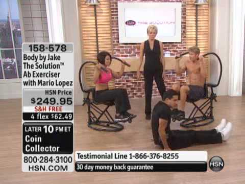 Body by Jake The Solution Ab Exerciser with Mario Lopez ...