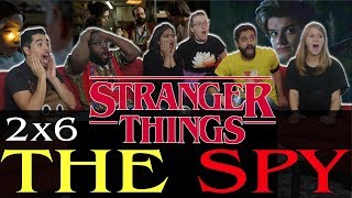 connectYoutube - Stranger Things - 2x6 The Spy - Group Reaction