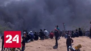 Смотреть видео Ситуация в Палестине продолжает накаляться - Россия 24 онлайн