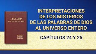 Interpretaciones de los misterios de las palabras de Dios al universo entero: Capítulo 24 y 25