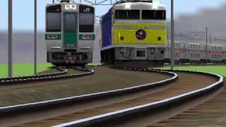現在、トワイライトエクスプレスと豪華で肩を並べる、超豪華寝台列車「カ...
