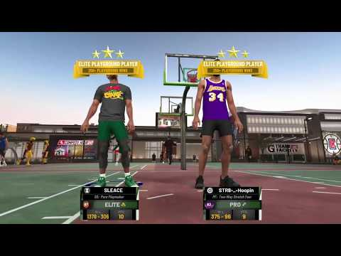 NBA 2K19: 97 Pure Playmaker Vs 95 Pure Playmaker