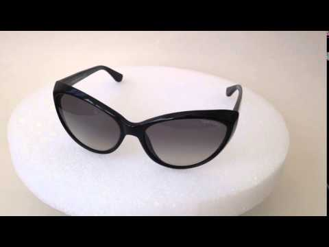 9631bcf97e Tom Ford Martina Cat Eye Sunglasses black gloss frame gray gradient lens  tf231 59mm