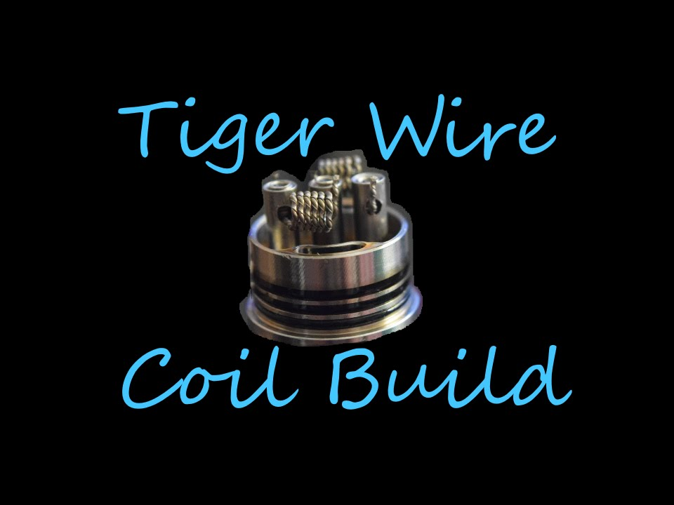 Tiger Wire Coil Build With #AN80 an A1 Flat Ribbon Wire - YouTube
