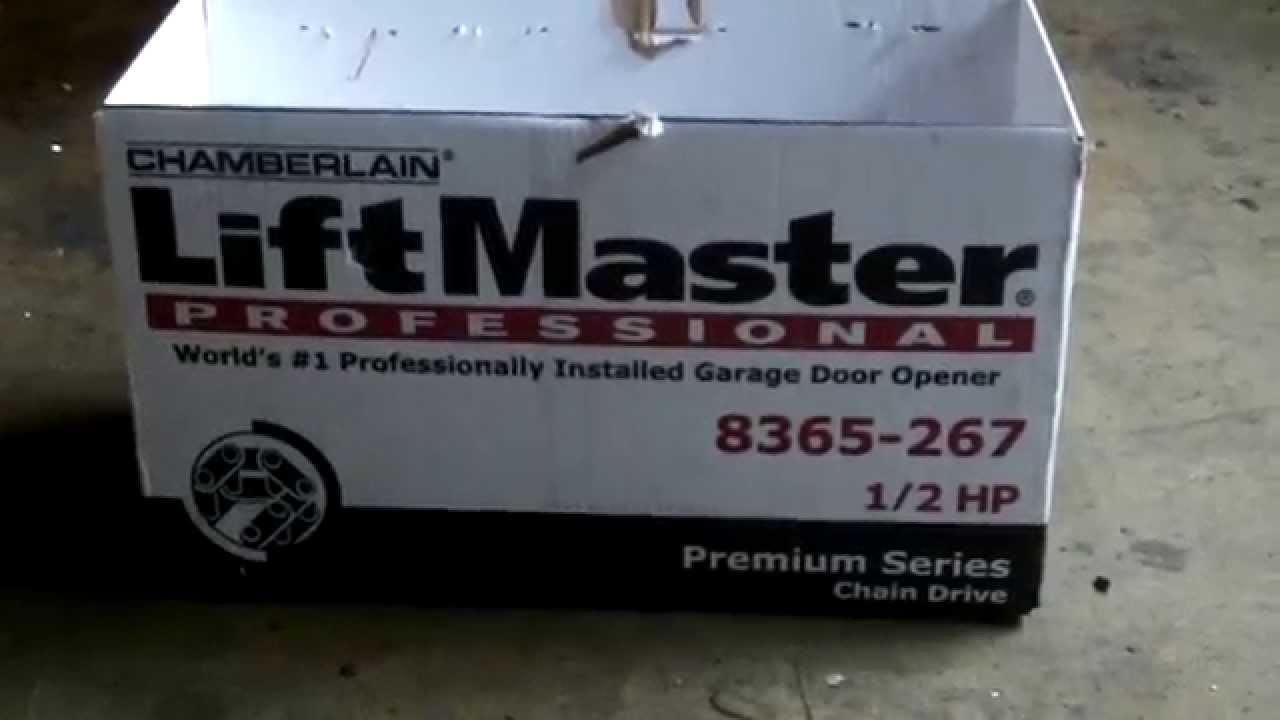 8365 Liftmaster My Q 1 2 hp chain drive 630 271 9343