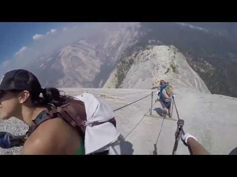 Death–defying Half Dome Cables; 7/31/2016