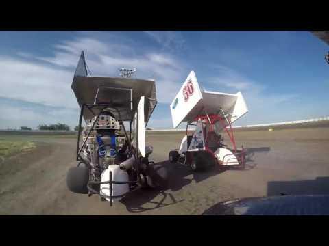 South Texas Speedway Outlaw Kart heat race win
