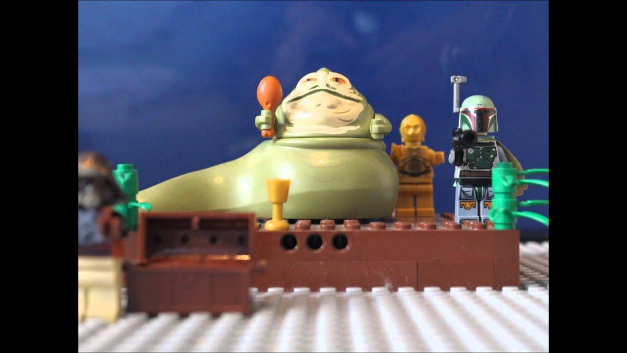 lego Star Wars Jabba the Hutt - YouTube
