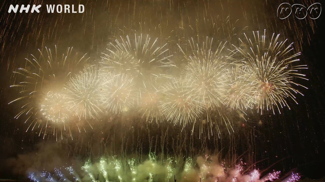 Photo of Tenchijin Fireworks at Nagaoka Festival, Niigata [4K UHD] – video