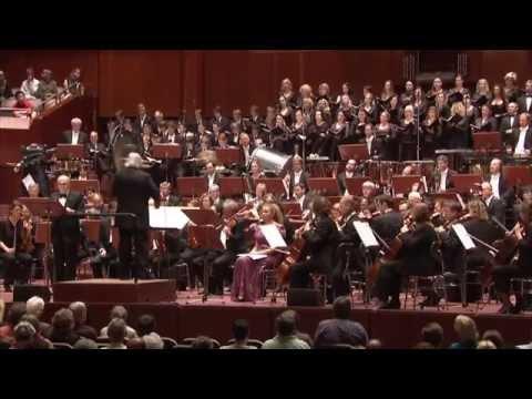 Bernstein: 3. Sinfonie (»Kaddisch«) ∙ hr-Sinfonieorchester ∙ Samuel Pisar etc. ∙ Eliahu Inbal