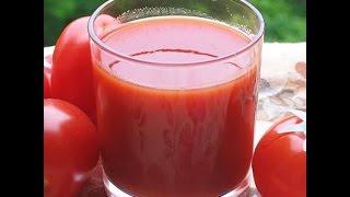 Томатный сок (кетчуп)  на зиму, очень просто!