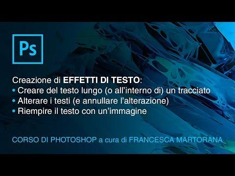 PHOTOSHOP CC - Tutorial 13: Effetti di testo in Photoshop thumbnail