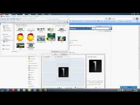 Hướng dẫn làm avatar đôi trên ZingMe :D