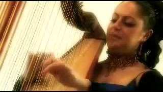 International Harpist playing Indian Songs