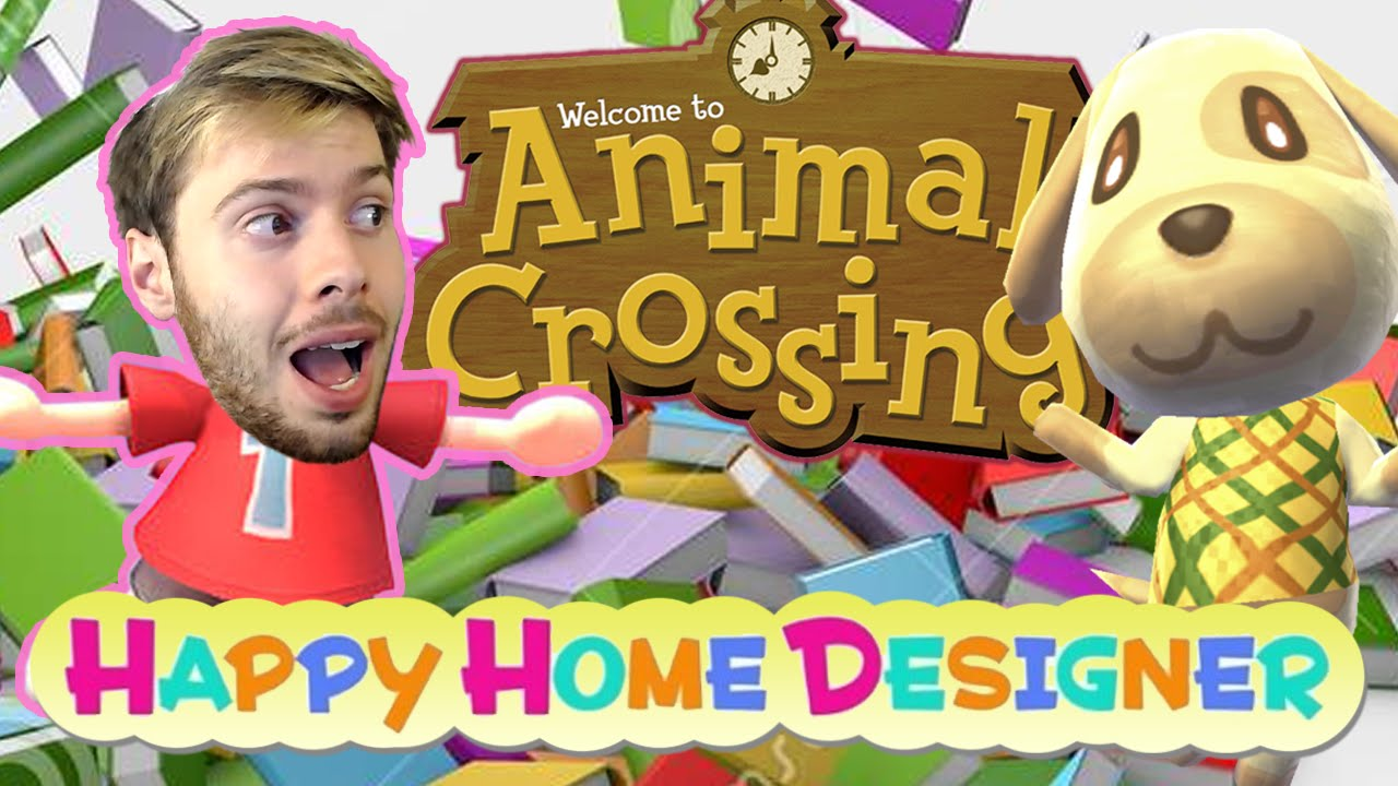 AC : Happy Home Designer - MIRZA, FOLLE DES LIVRES ! - YouTube