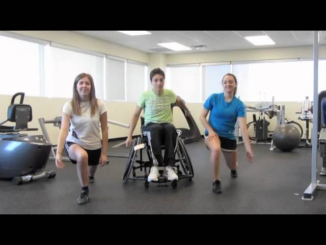 Beginner exercise video for kids, adults, and people with disabilities (PART 1)