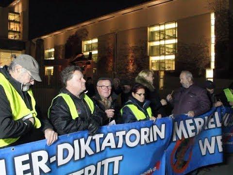 VOR ORT AKTUELL - MERKEL-MUSS-WEG-MITTWOCH VOM 13.NOVEMBER IN BERLIN-MITTE. MIT WOLFGANG GRAETZ ...