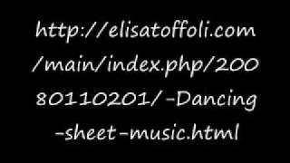 Dancing by Elisa--Sheet Music download