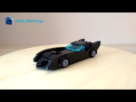 LEGO Batmobile From The New Batman Adventures Instructions (MOC #9)