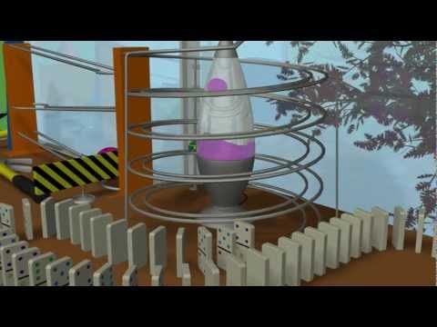 Waking Up Right - A Rube Goldberg Machine
